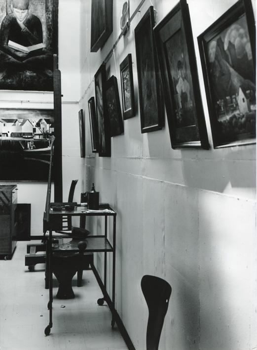 Rolf Fisch - Atelier Halen